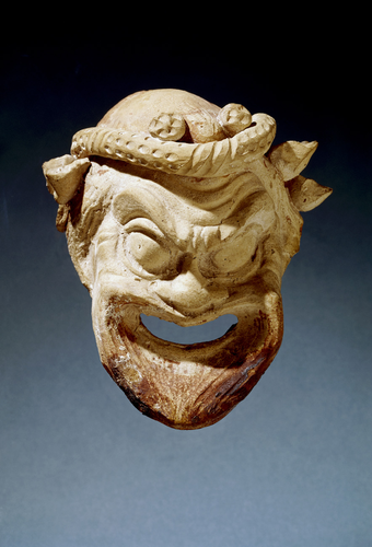 Teaching History with 100 Objects - A Greek theatre mask