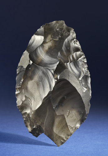Teaching History with 100 Objects - Earliest handaxe in Britain