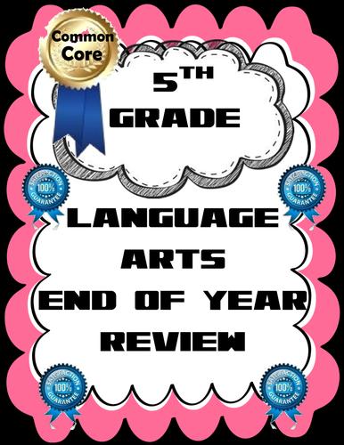 CCSS 5th Grade Language Arts Review