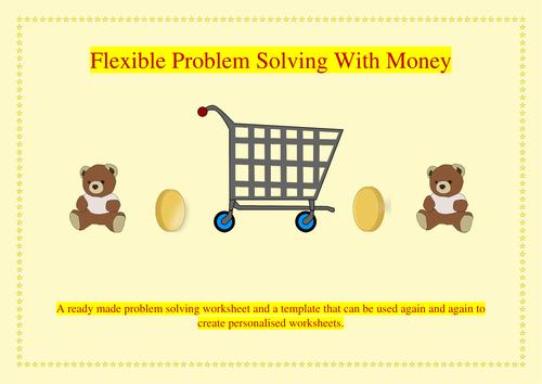 Flexible Problem Solving With Money Y3/ Y4