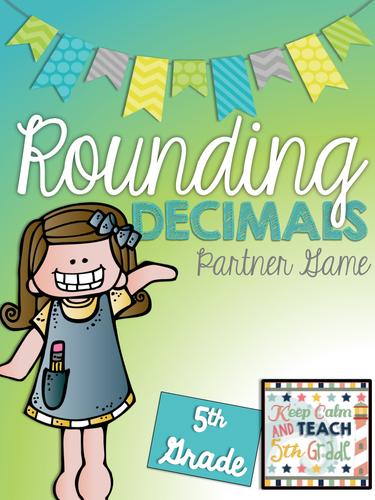 Rounding Decimals Game - 5th Grade