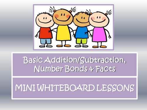 Mental Maths Mini Whiteboard Tasks- Starters and Plenaries