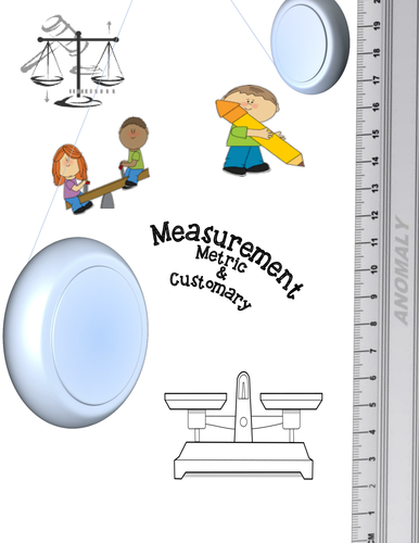 metric and customary measurement worksheets by moedonnelly teaching resources tes. Black Bedroom Furniture Sets. Home Design Ideas