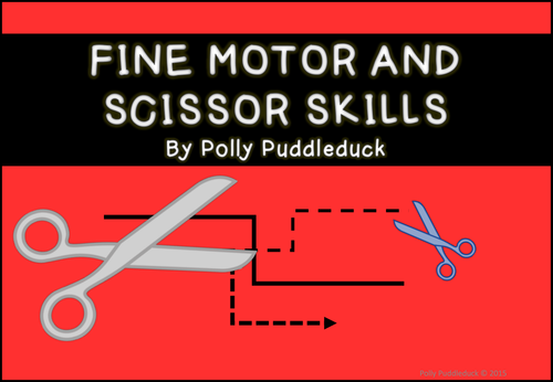 Early years scissor skills by uk teaching resources tes for Adhd and fine motor skills