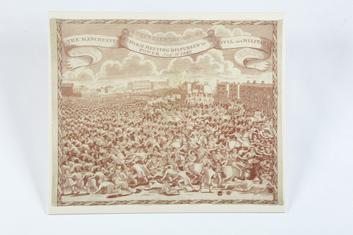 Teaching History with 100 Objects -The Peterloo Handkerchief