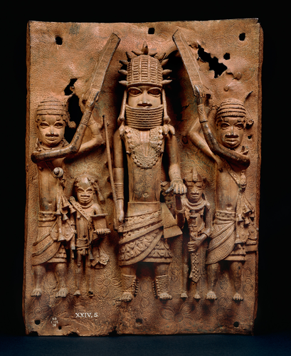 Teaching History with 100 Objects -The Oba of Benin