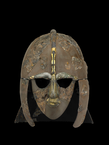 Teaching History with 100 Objects - The Sutton Hoo helmet