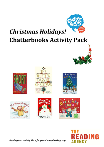 Christmas reading group or book club packs