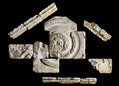 Teaching History with 100 Objects - The Roman temple in Bath
