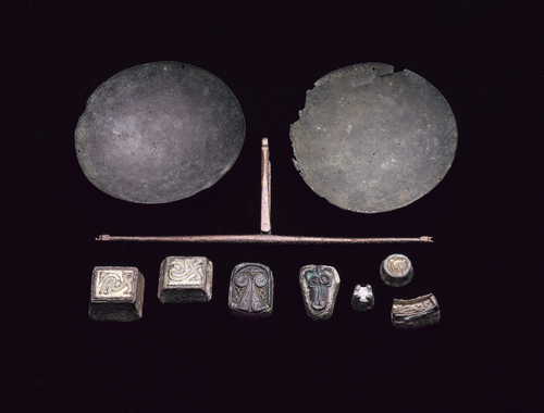 Teaching History with 100 Objects -Viking scales and weights