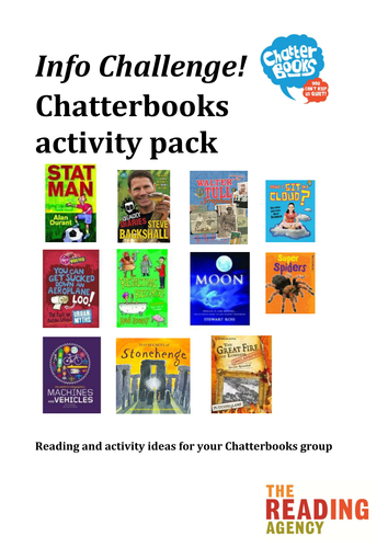 Non-fiction reading group or book club pack