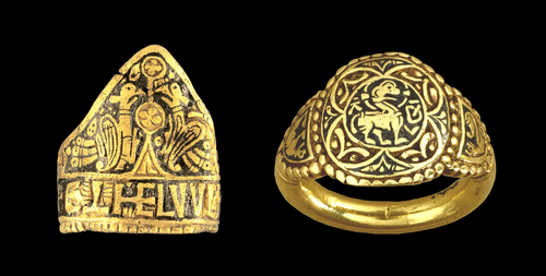 Teaching History with 100 Objects -Anglo-Saxon royal rings