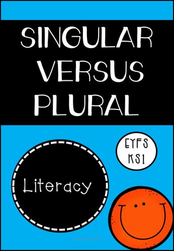 Singular Versus Plural (KS1/KS2)