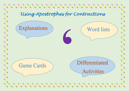Using Apostrophes for Contractions