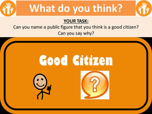 What makes a good citizen?