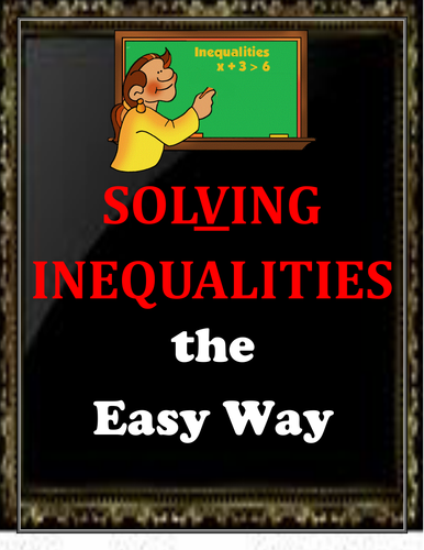 Inequalities the Easy Way