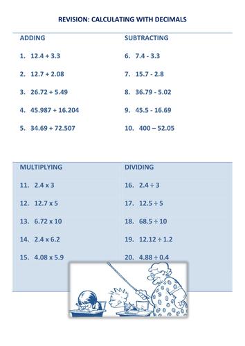 Mathematics Worksheets Galore Shop - Teaching Resources - TES