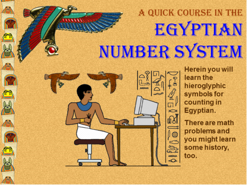 power point worksheet collection ancient history egyptian number system by mccormick33. Black Bedroom Furniture Sets. Home Design Ideas