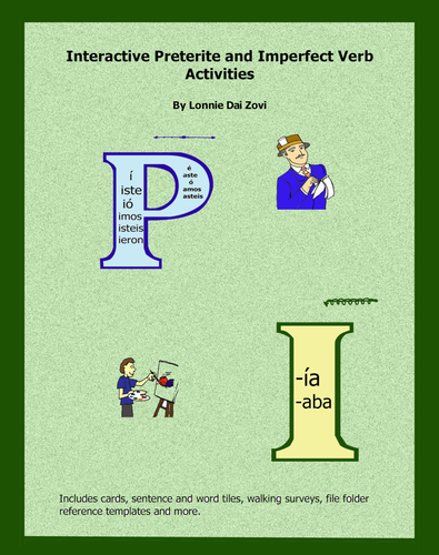 Interactive Preterite and Imperfect Verb Activities