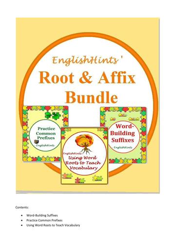 Root and Affix Bundle