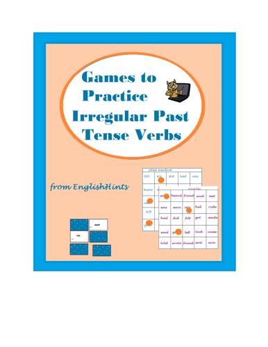 Games to Practice Irregular Past Tense Verbs