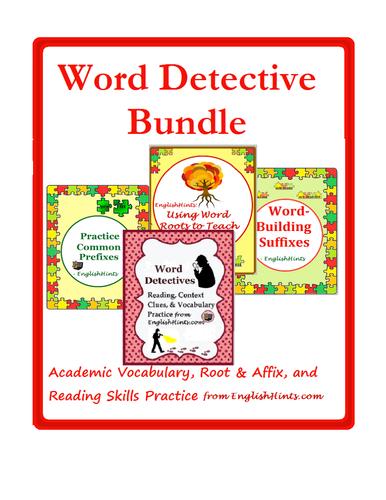 Word Detective Bundle