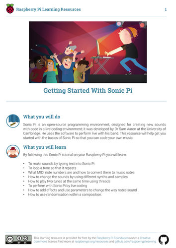 Getting Started with Sonic Pi