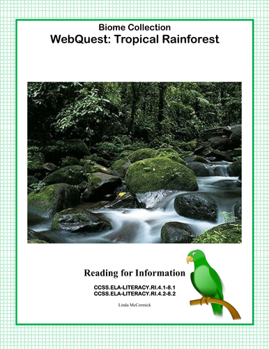 WebQuest: Rainforest