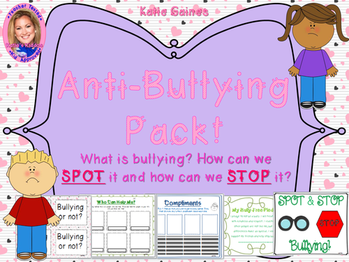 UK SPOT and STOP Bullying Unit (Anti-Bullying Pack!)