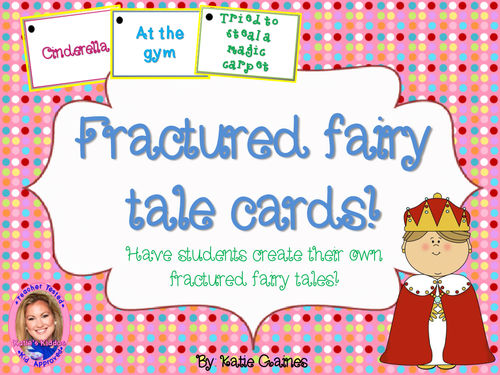 UK Fractured Fairy Tale Cards!