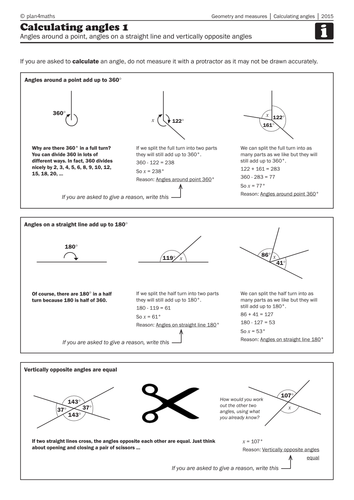 how to work out angles of straight line on cas