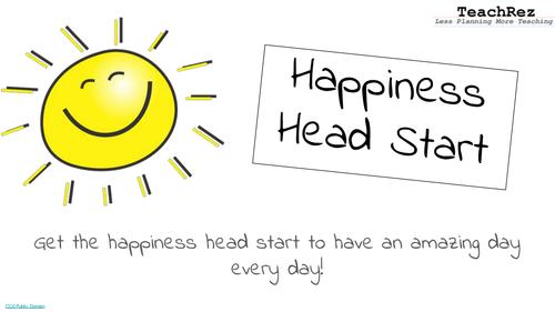 The Happiness Head Start