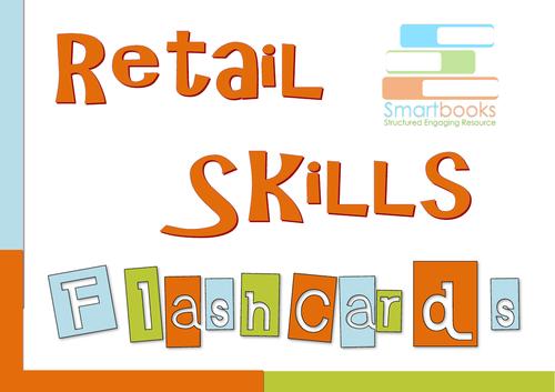 Retail Skills FLASHCARDS
