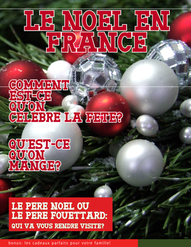 Christmas in France - magazine and activities - le Noel en France