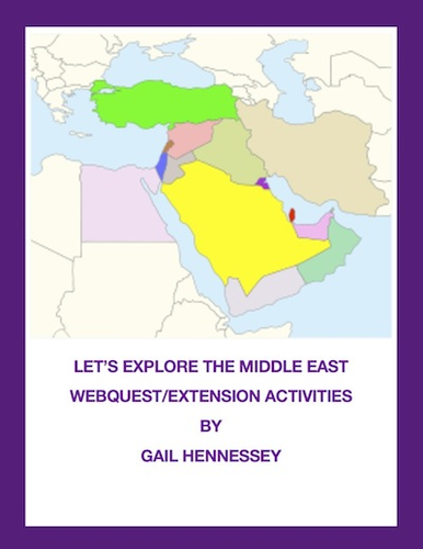 Middle East Map Activities.Let S Explore The Middle East Map Activity By Mistermitchell3