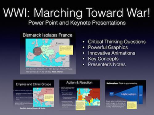 World War I: Marching Toward War 1870-1914
