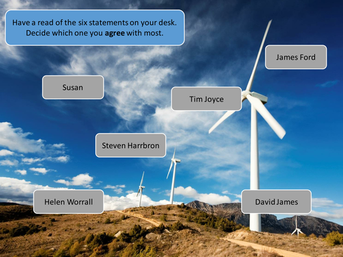 Should the UK use wind power?
