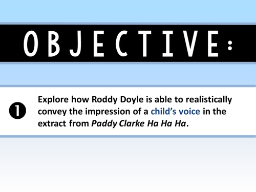paddy clarke ha ha ha summary