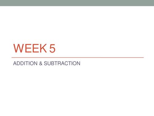 Y6 Addition & Subtraction Practical Application Tasks
