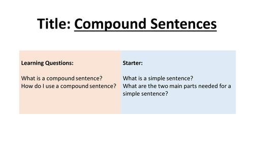 how to use thus in a compound sentence