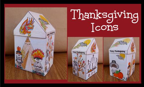 Thanksgiving Crafts - Thanksgiving Icons!