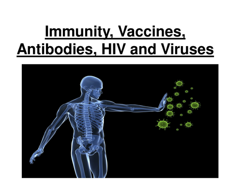 New AQA AS Biology - Immunity, Vaccines, Antibodies & HIV