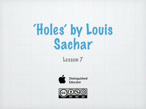 an analysis of what means to be human in holes by louis sachar Wayside school is a children's book series by louis sachar (holes) mrs jewls says a human is not a pet.