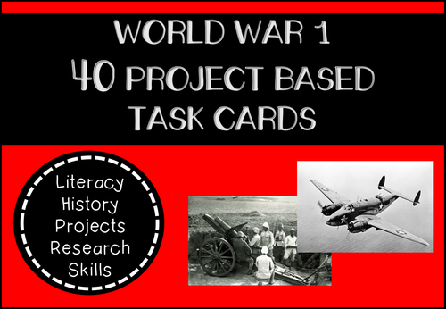 world war 1 research project