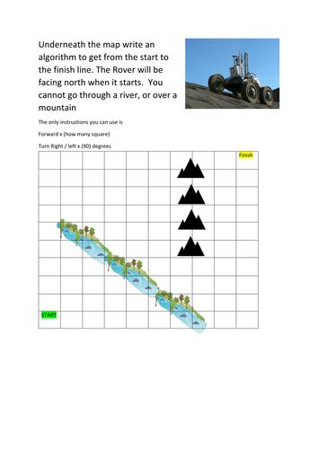 Moon Rover algorithm task