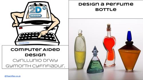 TechSoft Perfume Bottle Design using TechSoft 2D