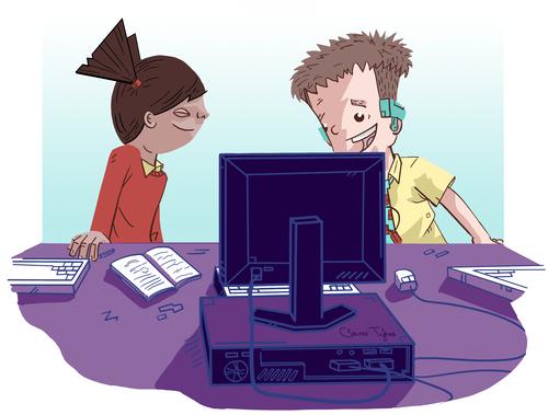 Code-it Cody storybook - enterprise education - class reading KS2