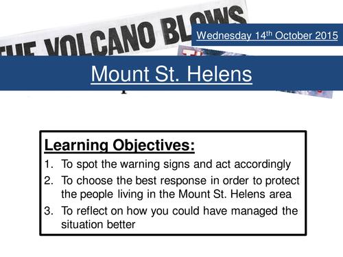 Mount St Helens DME