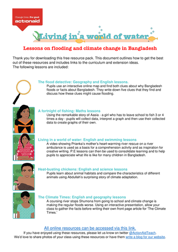 Why does Bangladesh flood? - Interactive map and activites