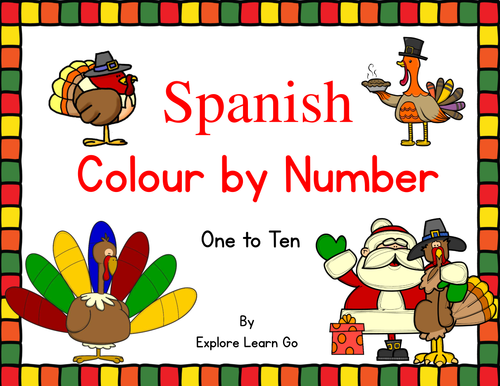 Elementary school Spanish resources: colors